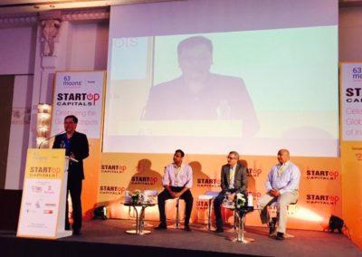 Mr. Yang Yen Thaw speaking at Start-up Capital in New Delhi