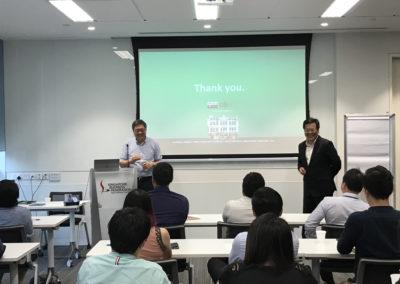 Mr. Richard Eu and Mr. Yang Yen Thaw addressing the Q&A session