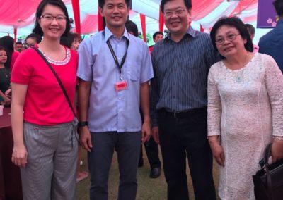 With BG Desmond Tan Kok Ming