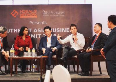 Left to Right: Mr. Richard Eu, Dato Beatrice Nirmala, Mr, Arthur Tay, Mr Scott Bales, Mr. Lawrence Yip, Mr. Dylan Tan