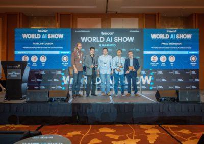 Panel presentation at World AI Show 2018